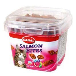 Cat Salmon Bites, упаковка 75г.