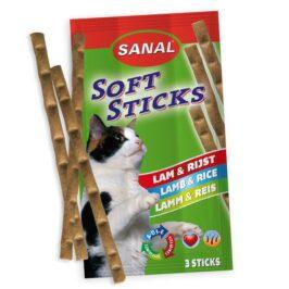 Cat Soft Sticks Lamb-Rice, упаковка 3шт.