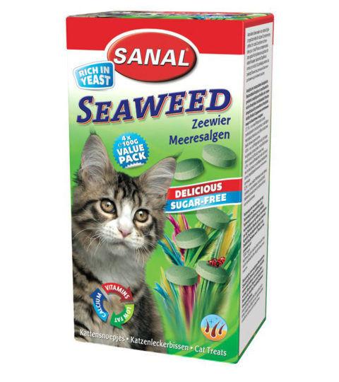 Cat-Vitamins-Seaweed,-упаковка-50г.