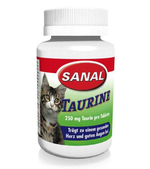 Cat Vitamins Taurin, упаковка 60 г (100 таблеток).