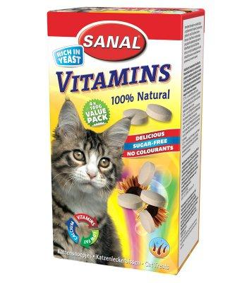 Cat Vitamins, упаковка 400г (4х100г)