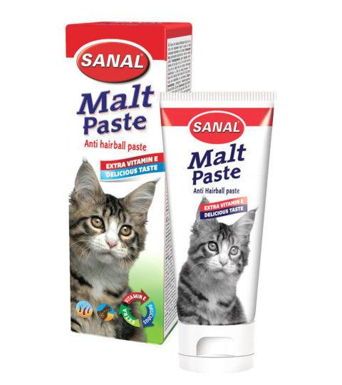 Malt Paste for cats, упаковка 100г