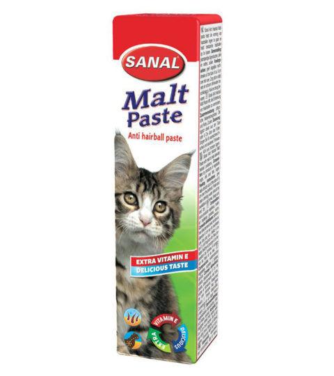 Malt Paste for cats, упаковка 20г