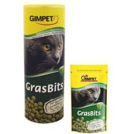 Витаминизированные лакомства ГрасБитс с травой для кошек