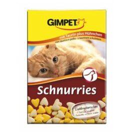 Витаминизированные «сердечки» с таурином и курицей с ТГОС для кошек
