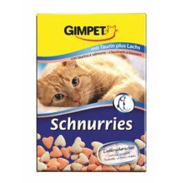 Витаминизированные «сердечки» с таурином и лососем с ТГОС для кошек