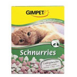 Витаминизированные «сердечки» с таурином и ягненком и ТГОС для кошек